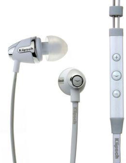 Klipsch Image S4i II In-Ear Headphones - White