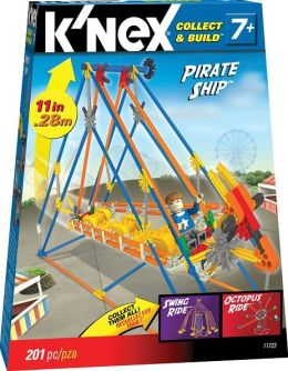 K'Nex Micro Amusement Park Pirate Ship Building Set
