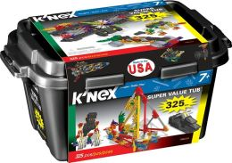 K'NEX 325 Piece Super Value Tub