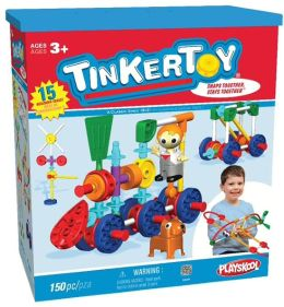 K'NEX Tinkertoy Transit Building Set