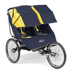 SALE!! Baby Jogger Performance Double Series 20 Inch Wheels Navy-Yellow