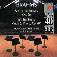 Brahms: String Sextet No. 2, Horn Trio