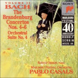 Bach: The Brandenburg Concertos Nos. 4-6; Orchestral Suite No.4