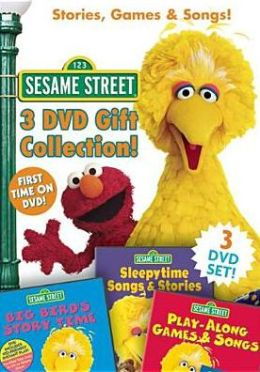 Sesame Street: Stories, Games & Songs Dvd Gift Collection