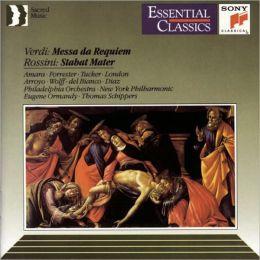Verdi: Requiem / Rossini: Stabat Mater