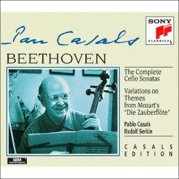 Beethoven: The Complete Cello Sonatas; Variations on Themes from Mozart's Die Zauberflöte