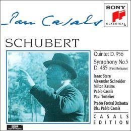 Schubert: String Quintet, Symphony No. 5