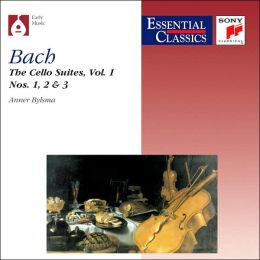 Bach: The Cello Suites Vol.1, Nos.1, 2 & 3