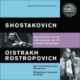 Shostakovich: Cello Concerto No. 1, Violin Concerto No. 1