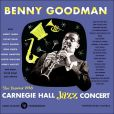 CD Cover Image. Title: Live at Carnegie Hall: 1938 Complete, Artist: Benny Goodman