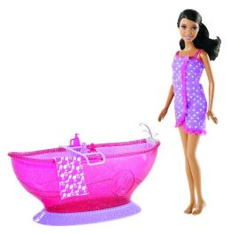 BARBIE Doll and Bath Tub - African American