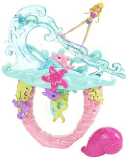Barbie Mermaid Tale 2 Surf to Sea 2 in 1 Bath & Pool Playset