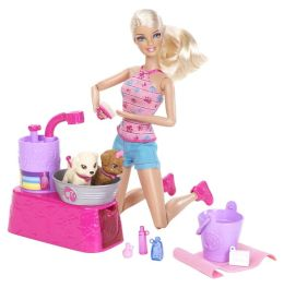 Barbie Suds Hugs Pup Playset