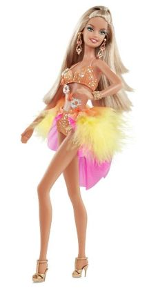Barbie Collector Dancing with the Stars Samba Barbie Doll