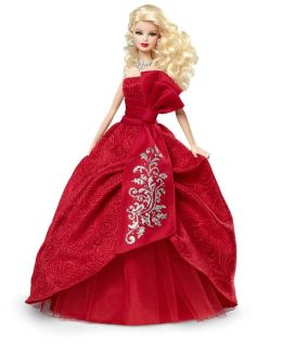 Barbie Collector Holiday Barbie 2012 Doll