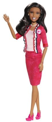 Barbie Collector Barbie I Can Be President African American Doll