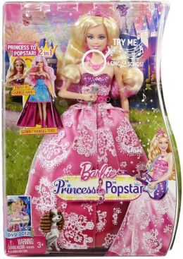 Barbie Princess & The Popstar 2-in-1 Tori Doll