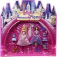 Product Image. Title: Barbie Princess And Popstar Dolls &amp; Movie Bag