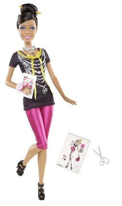 Barbie I Can Be a Fashion Designer African American Doll