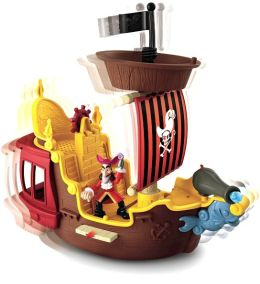 Fisher Price Jake and the Netherland Pirates Hook's Jolly Roger Pirate Ship