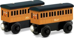 Thomas Wooden Railway Annie & Clarabel 2-Pack