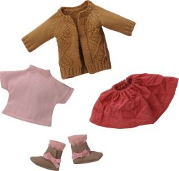 Corolle Les Cheries Knitted Cardigan Set Doll Clothes, Fits 13 Inch Dolls