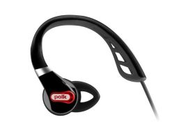 Polk Audio UltraFit 1000 Headphones - Black/Red