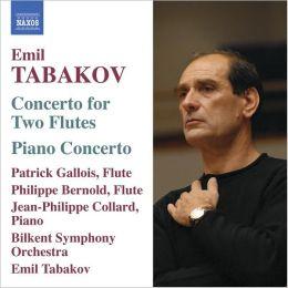 Tabakov: Concerto for 2 flutes; Piano Concerto