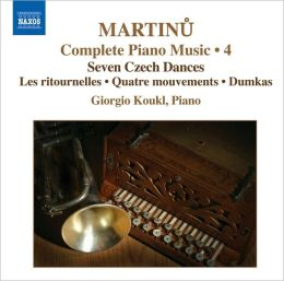 Martinu: Complete Piano Music, Vol. 4