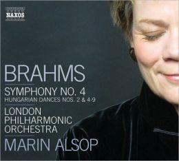 Brahms: Symphony No. 4; Hungarian Dances Nos. 2 & 4-9