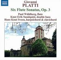 Platti: Six Flute Sonatas, Op. 3