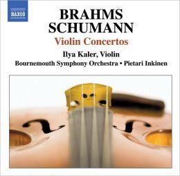 Brahms, Schumann: Violin Concertos