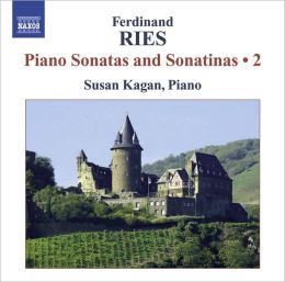 Ferdinnad Ries: Piano Sonatas and Sonatinas, Vol. 2