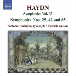 Haydn: Symphonies Nos. 25, 42 & 65