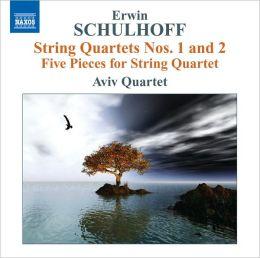 Erwin Schulhoff: String Quartets Nos. 1 & 2; Five Pieces for String Quartet