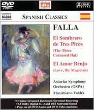 Falla: El Sombrero de Tres Picos; El Amor Brujo [DVD Audio]