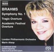 Brahms: Symphony No. 1; Academic Festival Overture; Tragic Overture