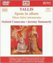 Tallis: Spem in alium [DVD Audio]