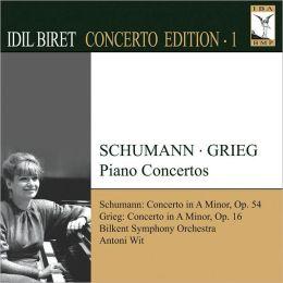 Idil Biret Concerto Editiion, Vol. 1: Grieg, Schuman