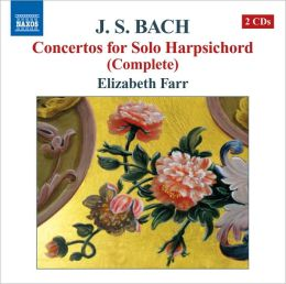 JS Bach: Concertos for Solo Harpsichord