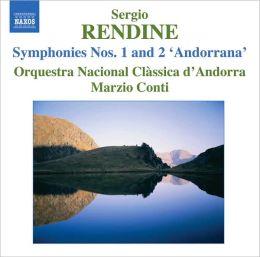 Sergio Rendine: Symphonies Nos. 1 & 2 'Andorrana'