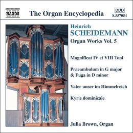 Scheidemann: Organ Works, Vol. 5