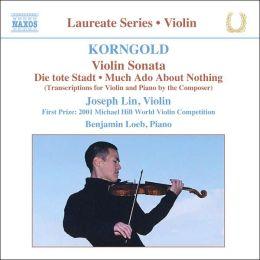 Korngold: Violin Sonata
