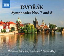 Dvorák: Symphonies Nos. 7 & 8