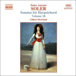 Soler: Sonatas for Harpsichord, Vol. 10