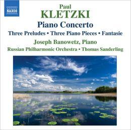 Paul Kletzki: Piano Concerto