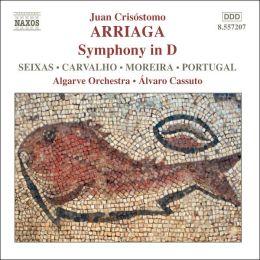 Arriaga: Symphony in D