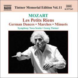 Mozart: Les Petits Riens; German Dances; Marches; Minuets