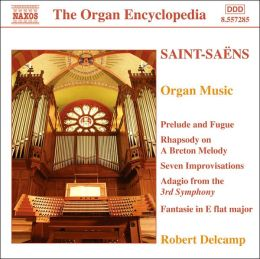 Saint-Saëns: Organ Music