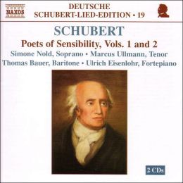 Schubert: Poets of Sensibility, Vols. 1 and 2